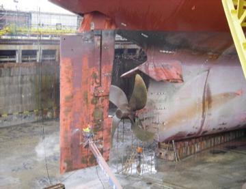 推進器と舵