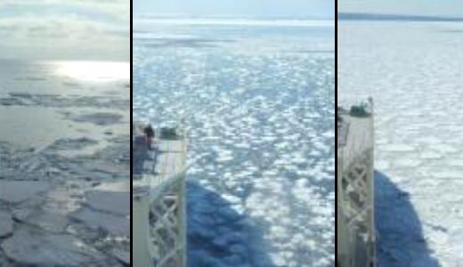 憧れの氷海航行
