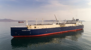 メンブレーン型 (Membrane Type) 船 (写真提供:VladSV / Shutterstock.com)