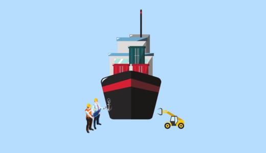 ドライドック作業は船底に始まり、船底に終わる
